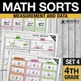 Math Sorts - Measurement & Data