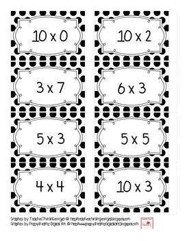 Math Sorts- Multiplication