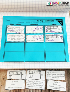 Math Sorts - Multiplication, Division, & More!