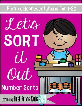 Math Sorts for Numbers 1 to 20
