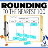 Math Sorts - Rounding to the Nearest Hundred