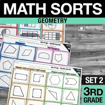 Math Sorts - Set 2: Geometry