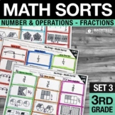 Math Sorts - Set 3: Fractions