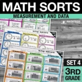 Math Sorts - Set 4: Time, Volume, Mass, Area and More