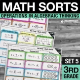 Math Sorts - Multiplication and Division Math Games Math Centers - Set 5