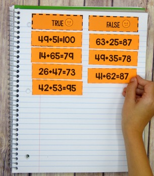 Math Sorts for 2nd Grade