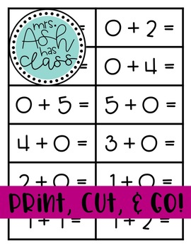 Math Sorts for Practice and Centers