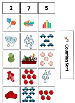 Math Sorts for Preschool and Kindergarten