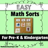 Math Sorts for Preschool and Kindergarten
