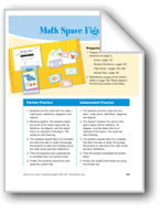 Math Space Figures (Words for geometric shapes)