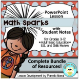 Math Sparks Complete Bundle of Resources!