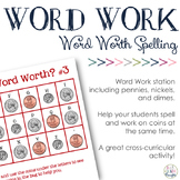 Math + Spelling= How Much is Your Word Worth? #3 {Pennies, Nickels & Dimes}