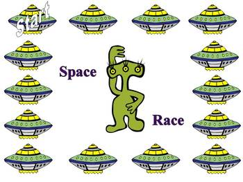 """Math, Spelling, Reading  """"Space Race """""""