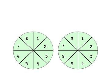 Math Spin the Wheel