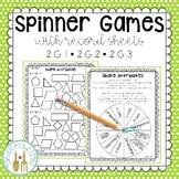 Math Spinner Games - G