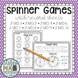 Math Spinner Games - MD