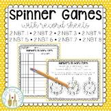 Math Spinner Games - NBT