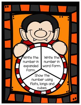 Math Spinner Practice [Halloween]