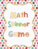 Math Spinner Review Game!