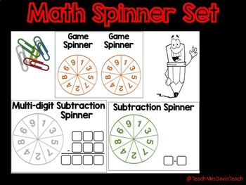 Math Spinners