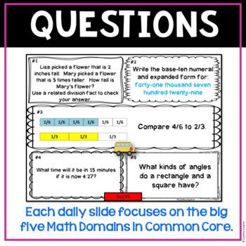 September Daily Math Spiral!