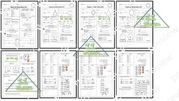 Math Spiral Review (Spanish)