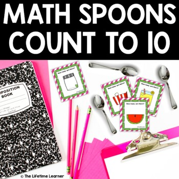 Math Spoons Counting to 10 Game