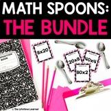 Math Spoons BUNDLE