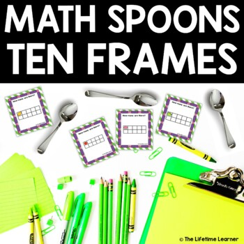 Math Spoons Ten Frames Game