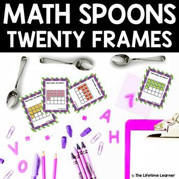 Math Spoons Twenty Frames Game