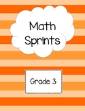 Math Sprints Grade 3