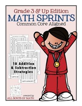 Math Sprints {Grade 3 & Up Edition}