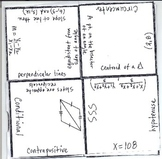 Math Squares - Geometry