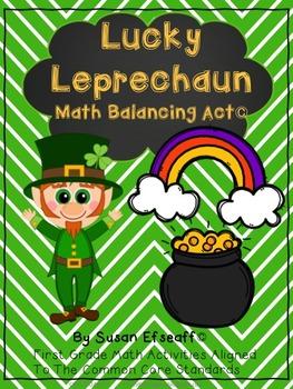 Math Bundle - St. Patrick's Day Place Value Fun