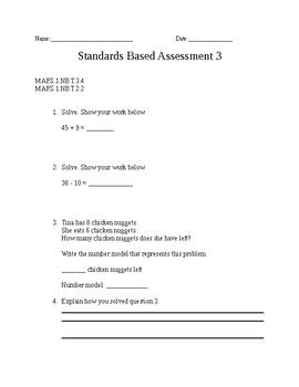 Math Standard Based Assessment