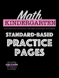 Math Standards-Based Practice Pages: Shapes, Addition, Subtraction, Number Sense