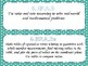 Math Standards Task Cards