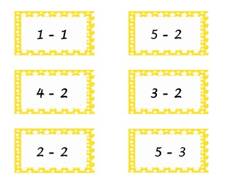 Math Stars - Adding and Subtracting (up to 5)