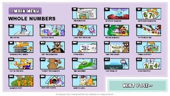 Math Starters Unit 1 - Whole Numbers