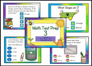 Math State Test Practice for Promethean ActivInspire