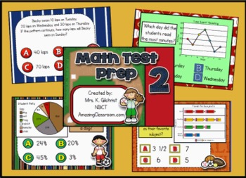 Math State Test Prep Practice for Promethean ActivInspire
