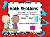 Math Station Activities:  Addition