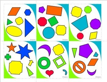 Math Stations BUNDLE: Addition and Subtraction, Shapes, Fractions