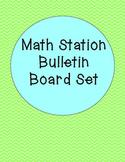 Math Station Bulletin Board