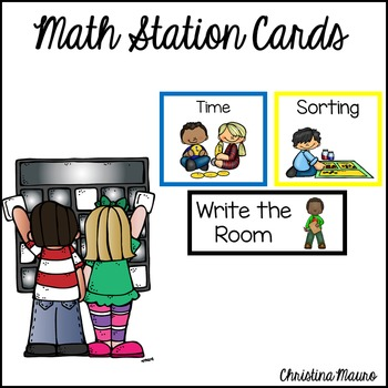 Math Station Cards