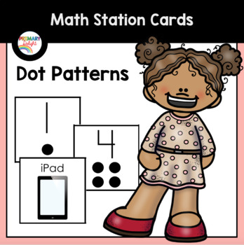 Math Center Cards with Dot Patterns