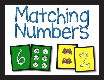 Math Station/Center Signs for Primary Classrooms