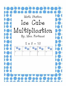 Multiplication Math Station