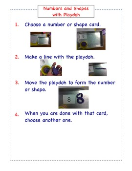 Math Station Instructions