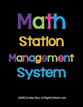 Math Station Management